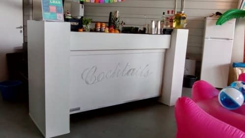 cocktailbar bij HZE post Hazerswoude 15-09-2018