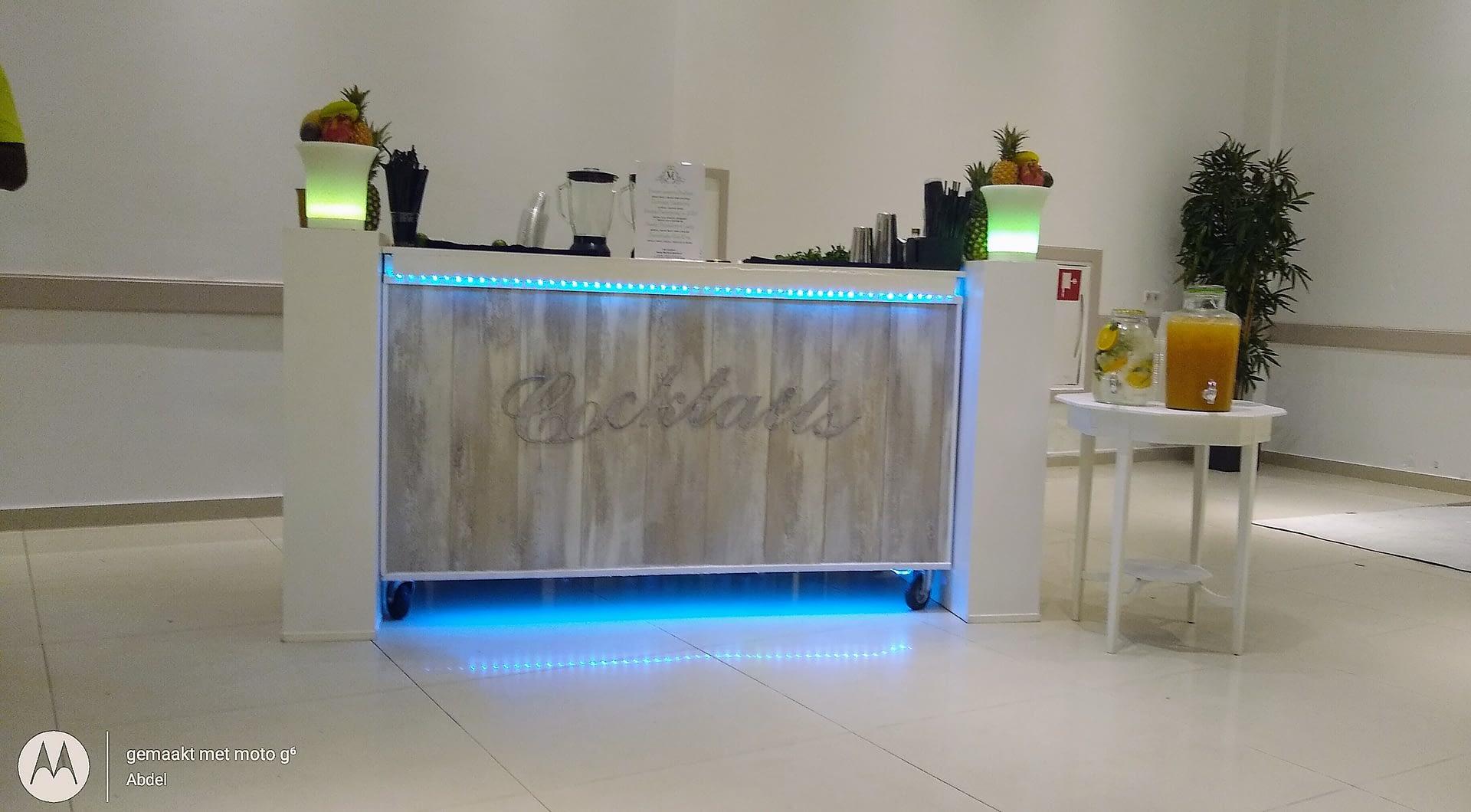 cocktailbar in Amsterdam op locatie