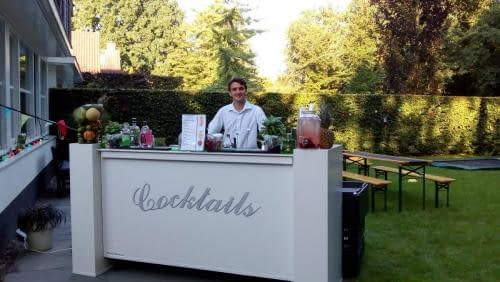 mobiele cocktailbar in laren op 13-7-2018