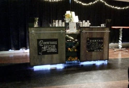 cocktailbar bij SVB 20-12-2018