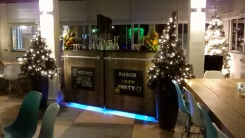 cocktailbar personeelsfeest Rosco.nl op 28-12-2018