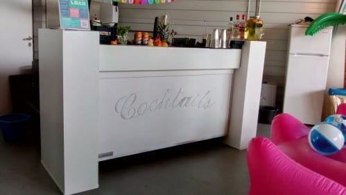 cocktailbar bij HZE post Hazerswoude 15-09-2018