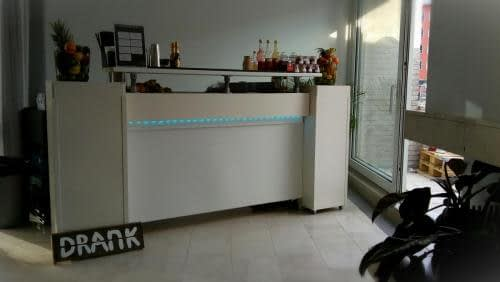 cocktailbar op locatie bij superstaff amsterdam
