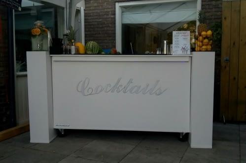 cocktailbar party in Wageningen 28-07-2018
