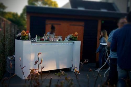 cocktailbar tuinfeest in Nieuwegein